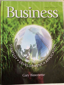 Business - Strategy, Development, Application (First Edition)