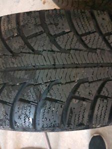 215 65 R16 winter tires Gislaved Nord Frost 5 with rims