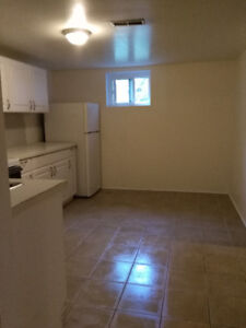 2bedrooms apt. at riser-basement is available now Mississauga