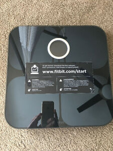 Fitbit Aria Wi-Fi Smart Scale - Black Mint condition London Ontario image 4