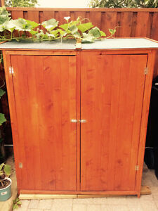 Brand New Teak Storage Shed