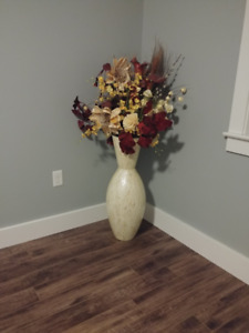 Large Vase and Flowers from Pier One