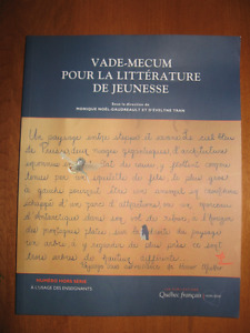 Vade-Mecum pour la littérature de jeunesse