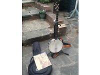5 String Banjo 1920's Clfford Essex