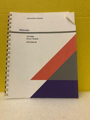 Tektronix 070-2950-00 Tm 5006 Power Module Instruction Manual