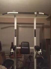 GYMANO DIP STATION / PULL UP BAR / DIP TOWER FOR SALE £70 GREAT DEAL