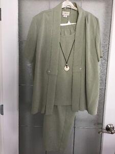 Elegant Two Piece Pants Suit