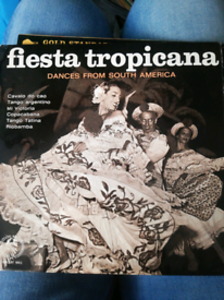 "7"" vinyl Fiesta Tropicana Dances From South America"
