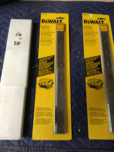 DeWalt DW7352 knives and *CUSTOM CARBIDE KNIVES*