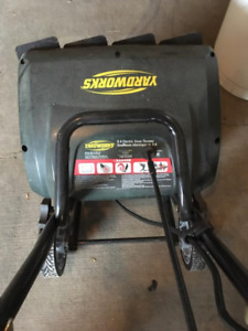 Yardworks Electric Snow Blower $75