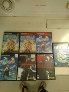 final fantasy X et final fantasy XII ps2 pour playstation 2