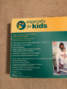 """Sleep Tight Bed Rail by """"Especially for Kids"""" 40"""" L x 20"""" H"""