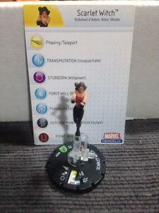 Scarlet Witch Heroclix with Card Windsor Region Ontario image 1