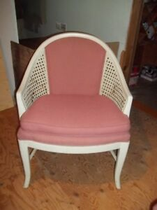 6 chairs suitable for a cottage or deck