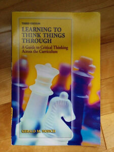 Learning to think things through By Gerald M. Nosich Gatineau Ottawa / Gatineau Area image 1