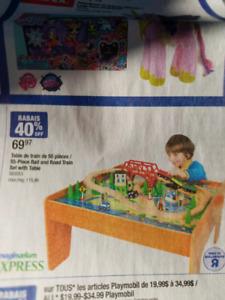 Table jouet pour enfants