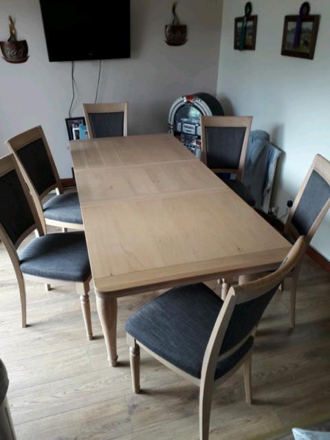 Table & 6 chairs | in Dunmurry, Belfast | Gumtree