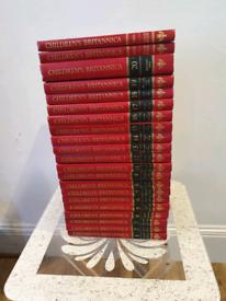 Children's Britannica +1993year book and 1994