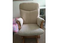 Nursing or glider chair