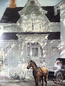 Victorian Wedding Picture, w/ Horse and Buggy by Walter Campbell Stratford Kitchener Area image 5