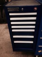 7 drawer Side box for tool chest. Made by International.
