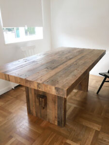 Emmerson Wood Dining Table 72""