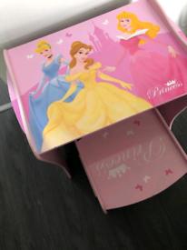 Disney Princess table & stool