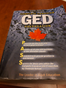 GED book