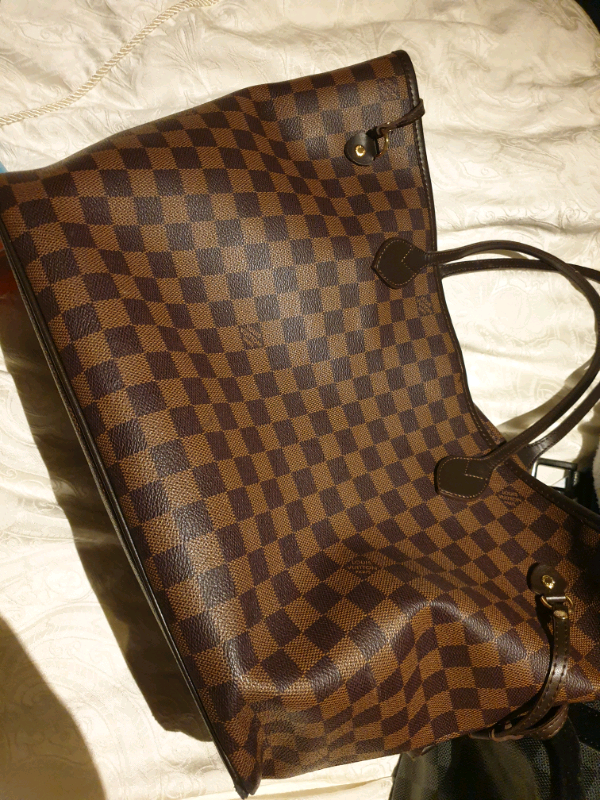 6ce940ebbf3a Louis Vuitton never fall large tote bag
