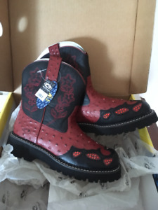 New Ladies ROPER Bling Cowboy Boots - Size 7.5