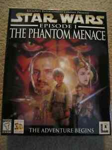 Star Wars Episode I The Phantom Menace CD-ROM (1999)