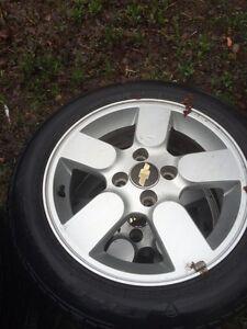 Chevy Aveo aluminum rims