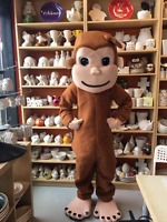CURIOUS GEORGE, ELMO, MICKEY POPPY AND MORE MASCOTS!