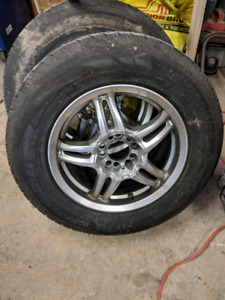Tires and rims 215/70/16