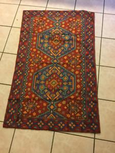 Thai silk carpet