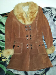 Brown Suede Jacket Size Small