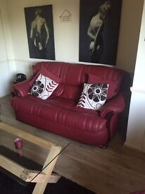 Sofa and chair suit