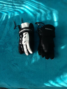 Youth Warrior Tempo Lacrosse Gloves