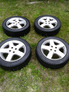 SATURN WHEELS WITH TIRES