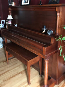 Piano & Bench For Sale