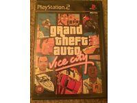 PS2 grand theft auto vice city