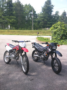 Honda CRF230's Package