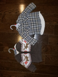 Boys 6-12 m thick sweaters