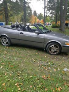 Go Topless!! Excellent Saab convertible