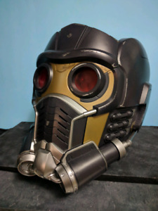 Guardians of the Galaxy Star Lord helmet (box available)