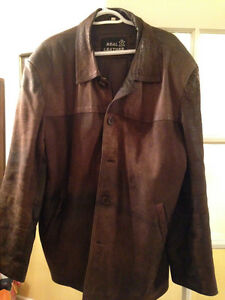 Leather Jacket - Brown / Men's / Size: Large