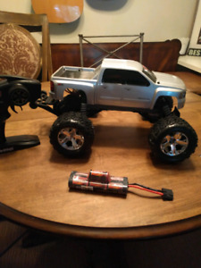 Used 1 time. Traxxas stampede trade for cell phone