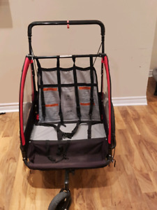Bicycle trailer stroller