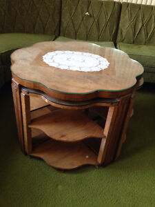 Unique 5 in one coffee table