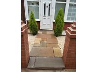 Fencing gate decking block paving driveways